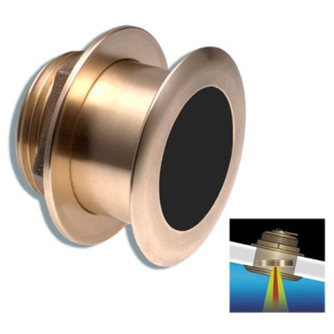 Raymarine B164 1kW Bronze Low Profile Thru-Hull Transducer