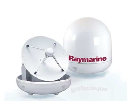 Raymarine STV Empty Dome and Base Plate
