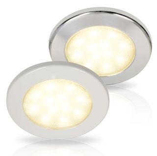 Hella EuroLED 115 Down Lights With White Spacer
