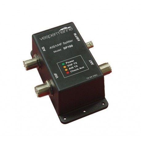 Vesper AIS/VHF/FM Antenna Splitter