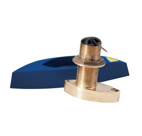 Raymarine B765 600W CHIRP Bronze Thru-Hull Transducer with Fairing Block