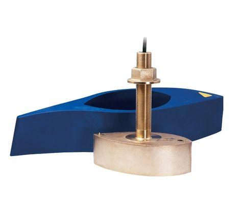 Raymarine B265 1kW CHIRP Bronze Thru-Hull Transducer with Fairing Block