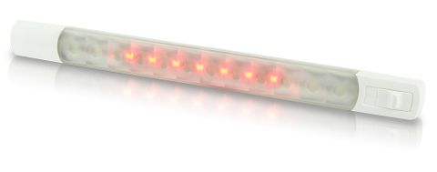 Hella Marine LED Surface Strip Lamps with Switch