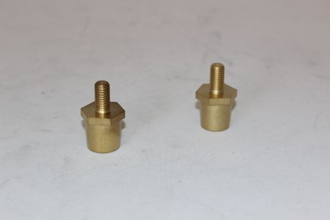 LCB BRASS TERMINAL POST M8 - POSITIVE