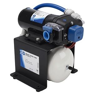 Jabsco Single Stack Water System Pump with Accumulator