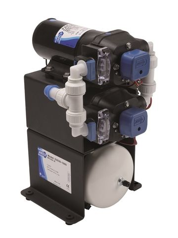 Jabsco Double Stack Water System Pumps with Accumulator