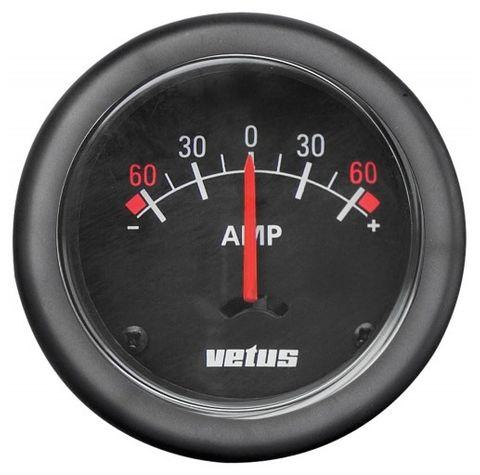 Vetus Ammeter & Shunt 12v/24v
