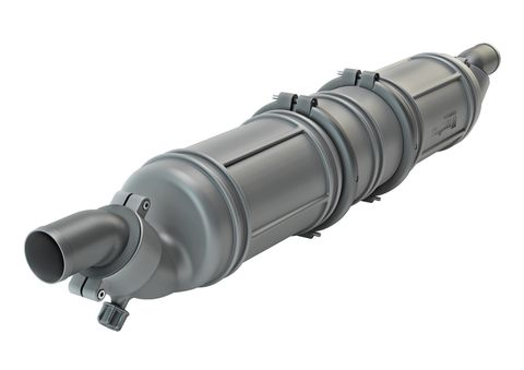 Vetus Exhaust NLP3 Water Lock Muffler