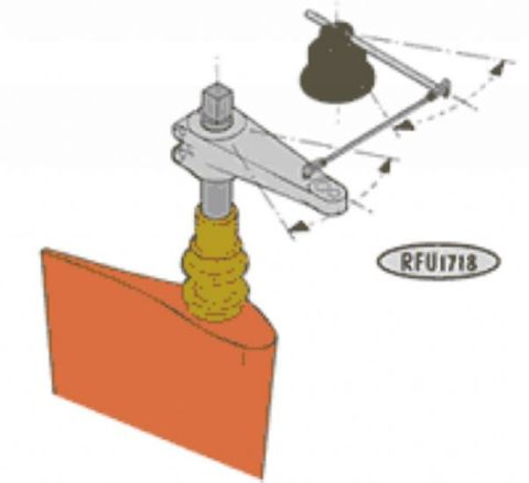 Vetus Rudder Position Indicator