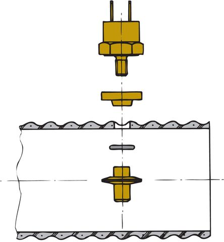 Vetus Exhaust Temp Sensor