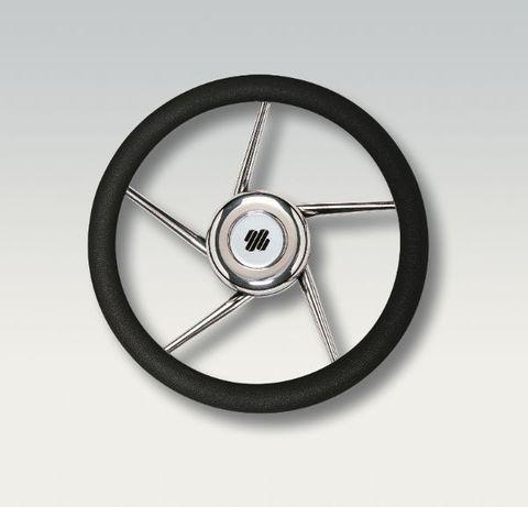 Ultraflex Steering Wheels - Stainless Steel - 5 Helical Spoke