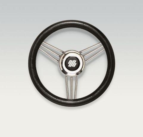 Ultraflex Steering Wheels - Stainless Steel - 3 Equidistant Spoke