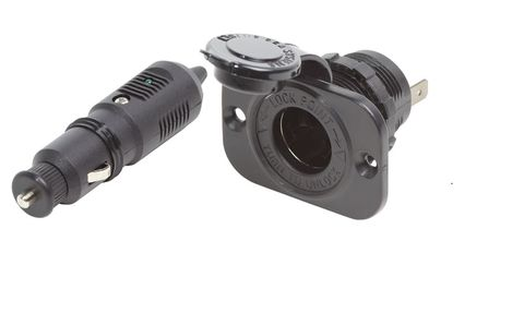Blue Sea 12V Plug and Socket Set
