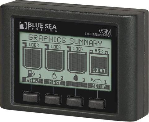 Blue Sea Vessel Systems Monitor