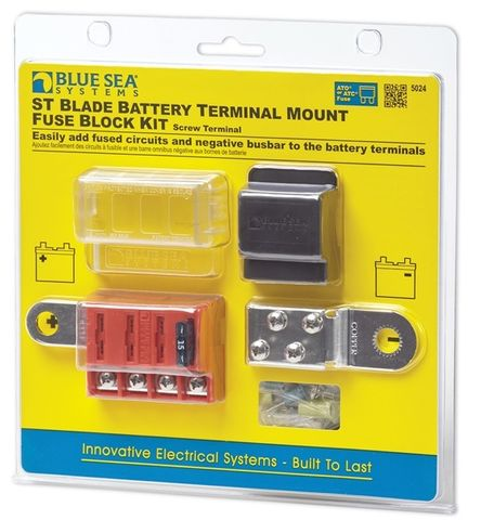 Blue Sea Battery Mount Blade Fuse Block