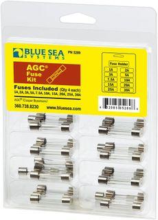 Blue Sea Glass Fuse Kit