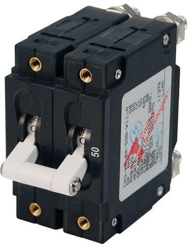 Blue Sea Circuit Breaker C Series Toggle - 2 Pole