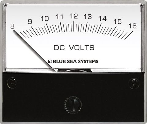 Blue Sea Analogue Standard Meter