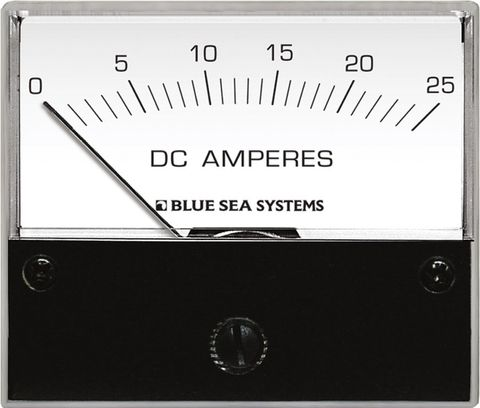 Blue Sea Standard Analogue Ammeter - DC