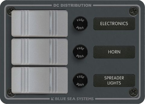Blue Sea Contura Switch Panel