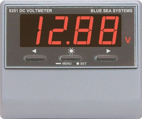 Blue Sea Digital DC Meters