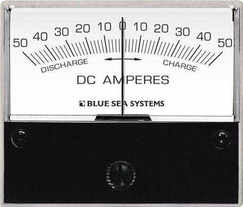 Blue Sea Analogue Zero Centre DC Ammeter
