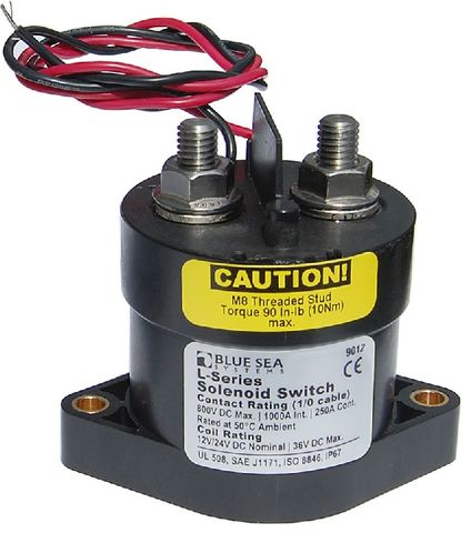 Blue Sea L Series Solenoid Battery Switch