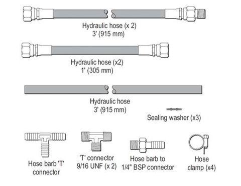 Raymarine Verado Hydraulic Kit