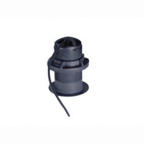 Raymarine P319 600W Depth & Temp Plastic Thru-Hull Transducer