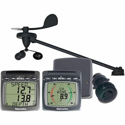 Raymarine Tacktick Wireless Wind/Depth/Speed Multi System