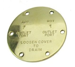 Jabsco End Covers