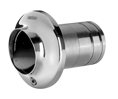 Vetus TRC-SV Stainless Transom Exhaust Connection