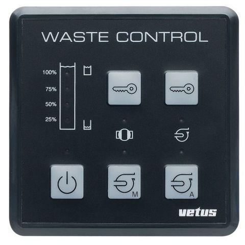 Vetus Waste Contol Panel