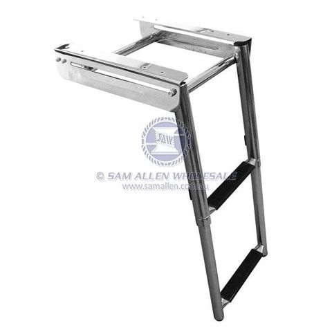 Saw Telescopic Swim Ladder