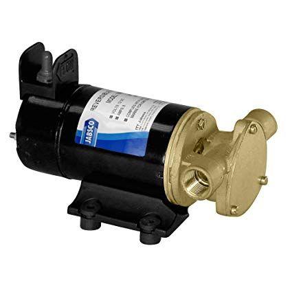 Jabsco Sliding Vane Utility/Diesel Pump 12V 23LPM with Reverse Switch