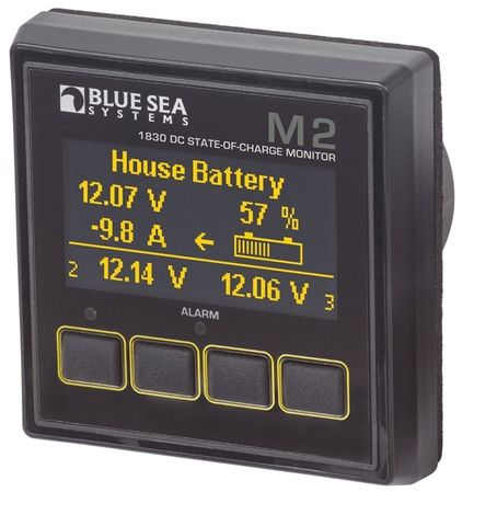 Blue Sea M2 OLED DC Meters