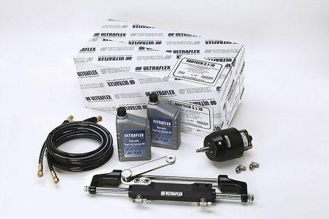 Ultraflex Outboard Steering Kit - 300HP Nautech OB3