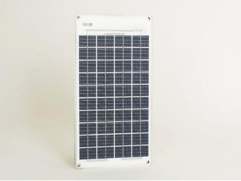Sunware Semi Flexible Solar Panel - Outlet on Back