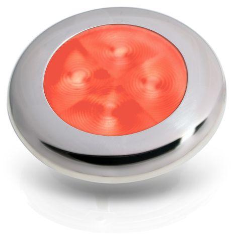 Hella Marine LED Round Courtesy Lamps - Red