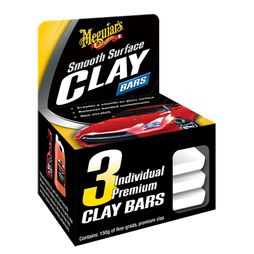 Smooth Surface Clay Bars - 3 Pack
