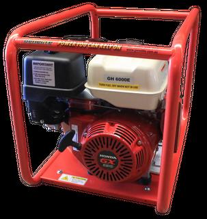 GENELITE 7.5KVA Electric Start Generator