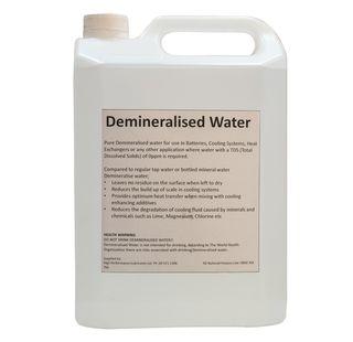 DEMINERALISED WATER 5L