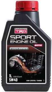 TRD SPORT ENGINE OIL 5W40 1L D