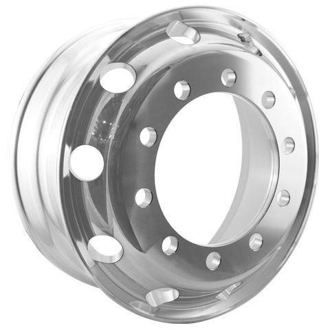 22.5 x 8.25, 10 Stud, 32mm, 335mm PCD, Machined Alloy Wheel