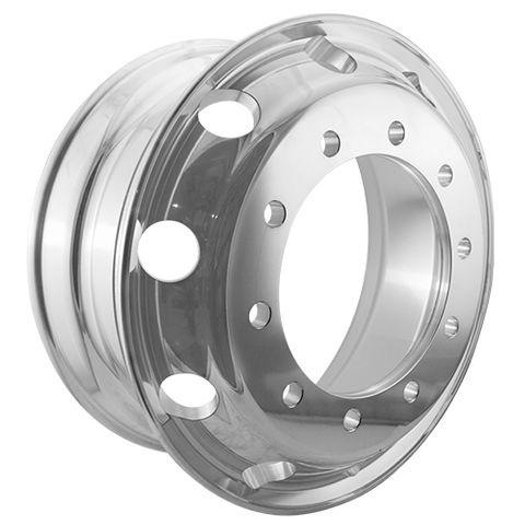 22.5 x 8.25, 10 Stud, 24mm, 335mm PCD, Machined Alloy Wheel
