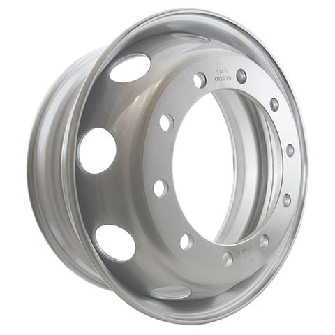 22.5 x 7.5, 10 Stud, 24mm, 335mm PCD, Steel Wheel