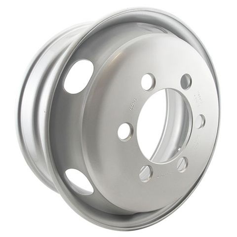 19.5 x 6.75, 6 Stud, 32mm J-Budd, 222.22mm PCD, Steel Wheel