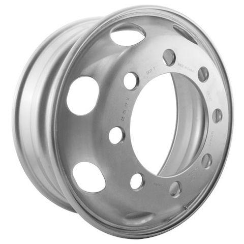 19.5 x 6.75, 8 Stud, 32mm J-Budd, 285mm PCD, Steel Wheel