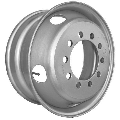 19.5 x 7.5, 10 Stud, 24mm, 225mm PCD, Steel Wheel