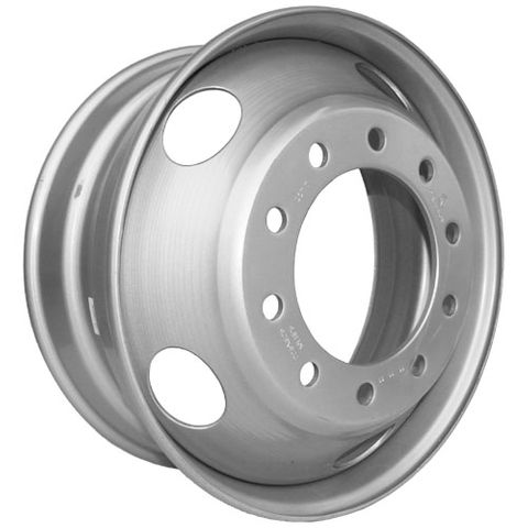22.5 x 8.25, 10 Stud, 24mm, 285mm PCD, Steel Wheel